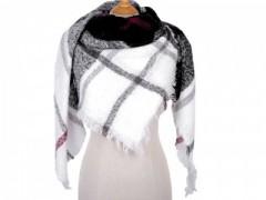 Akril kabátkendő - Kockás Női sálak, kendők
