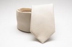 Prémium nyakkendő -  Ecru mintás