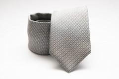 Prémium nyakkendő -  Szürke mintás