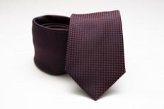 Prémium nyakkendő - Piros pöttyös Aprómintás nyakkendők