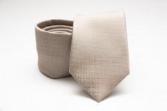 Prémium nyakkendő - Bézs mintás Aprómintás nyakkendők