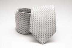 Prémium nyakkendő - Ezüst mintás Aprómintás nyakkendők