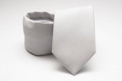 Prémium nyakkendő - Halványszürke mintás Aprómintás nyakkendők