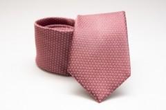 Prémium selyem nyakkendő - Lazac pöttyös Aprómintás nyakkendők