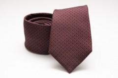 Prémium selyem nyakkendő - Sötétbordó Selyem nyakkendők