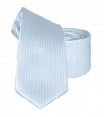 Goldenland slim nyakkendő - Ezüst mintás