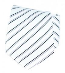 Goldenland nyakkendő - Fehér csíkos