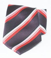 Goldenland nyakkendő - Bordó-piros csíkos