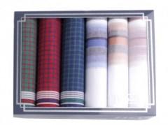 Zsebkendő csomag díszdobozban - 6 db Zsebkendők