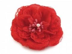 Csipke virág - Piros