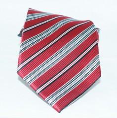 Goldenland nyakkendő - Meggybordó csíkos Csíkos nyakkendők