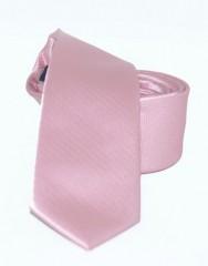 Goldenland slim nyakkendő - Mályvás rózsaszín Egyszínű nyakkendők