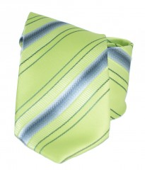 Classic prémium nyakkendő - Zöld csíkos