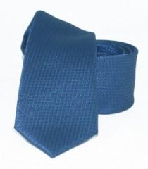 Goldenland slim nyakkendő - Kék kockás