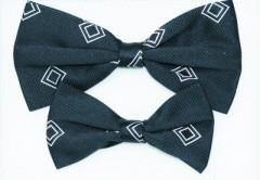 Apa-fia csokornyakkendő szett - Fekete kockás Csokornyakkendők