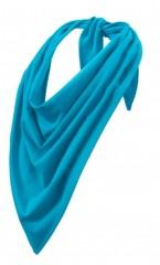 Pamut  női kendő - Türkizkék
