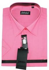 Goldenland extra rövidujjú ing - Pink Extra méret