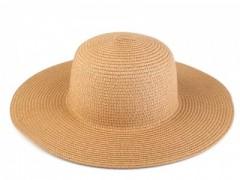 Női szalma kalap - Világosbarna