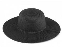 Női szalma kalap - Fekete