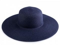 Női szalma kalap - Sötétkék