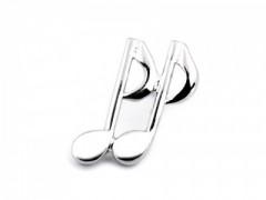 Dísztű - Hangjegy Mandzsetta, Nyakkendőtű