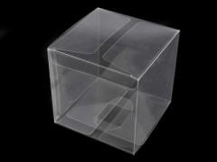 Műanyag doboz - Átlátszó Díszdobozok