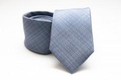 Prémium selyem nyakkendő - Kék Mintás nyakkendők
