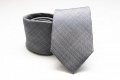 Prémium selyem nyakkendő - Szürke Mintás nyakkendők