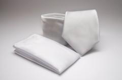 Prémium nyakkendő szett - Fehér Normál nyakkendő