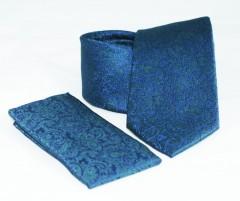 Prémium nyakkendő szett - Kék mintás Mintás nyakkendők