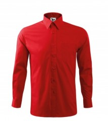 Malfini 100 % Pamut puplin férfi ing - Piros Normál fazon