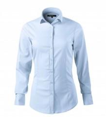 Elasztikus hosszúujjú női ing - Világoskék Női ingek, pólók
