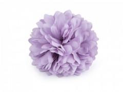 Virág kitűző - Lila Kitűzők, Brossok