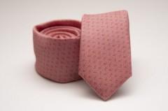 Prémium slim nyakkendő - Lazac mintás