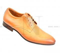 Carlo Benetti bőr cipő - Caramell Bőr cipők