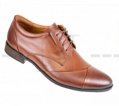 Carlo Benetti bőr cipő - Barna Bőr cipők