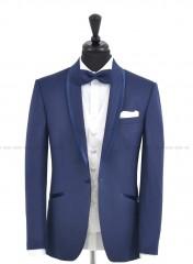 CB Esküvői öltöny+mellény szett 5 részes - Kék Öltönyök, nadrágok