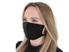 Szájmaszk ezüsttel - Fekete Egészségügyi maszkok