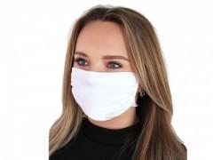 Szájmaszk ezüsttel - Fehér Egészségügyi maszkok