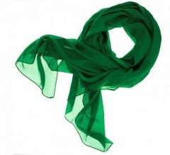 Női muszlin kendő - Zöld Női sálak, kendők