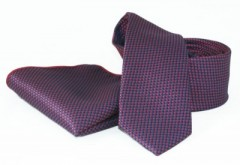Goldenland nyakkendő szett - Lila aprópöttyös Szettek
