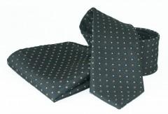 Goldenland nyakkendő szett - Fekete-barna pöttyös Szettek