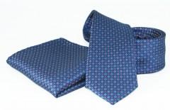 Goldenland nyakkendő szett - Kék aprómintás Szettek