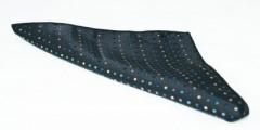 Díszzsebkendő - Fekete aprópöttyös