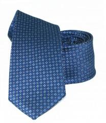 Goldenland slim nyakkendő - Kék aprómintás Aprómintás nyakkendők