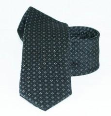 Goldenland slim nyakkendő - Fekete aprómintás Aprómintás nyakkendők