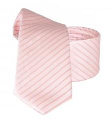 Goldenland slim nyakkendő - Púder csíkos