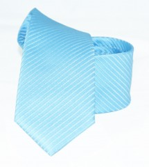 Goldenland slim nyakkendő - Kék csíkos Csíkos nyakkendők