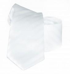 Goldenland slim nyakkendő - Fehér csíkos Csíkos nyakkendők
