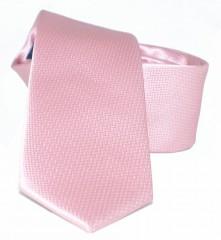 Goldenland slim nyakkendő - Púderrózsaszín Egyszínű nyakkendők